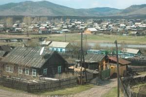 東シベリアの集落